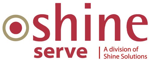 shine serve logo